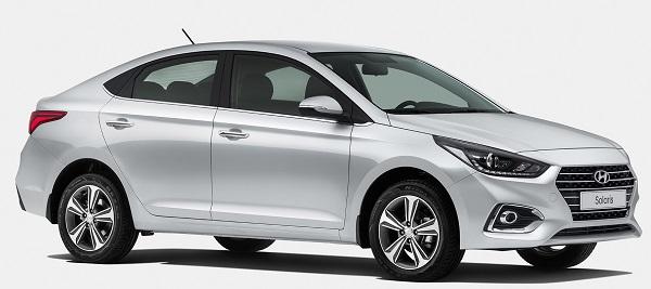 Hyundai Solaris;