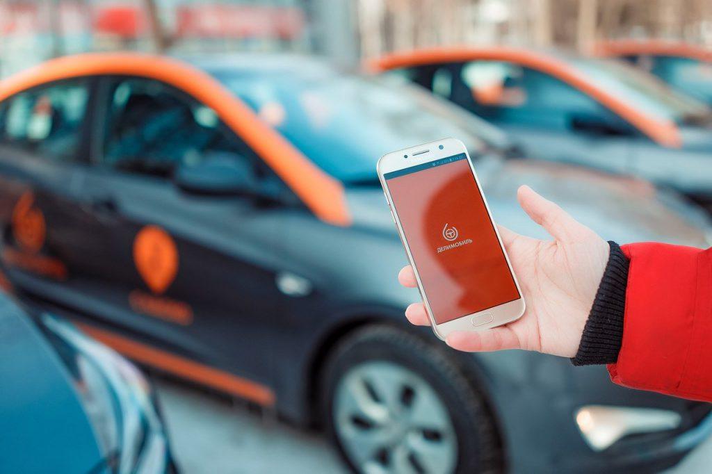 Мобильное приложение в каршеринге Демобиль