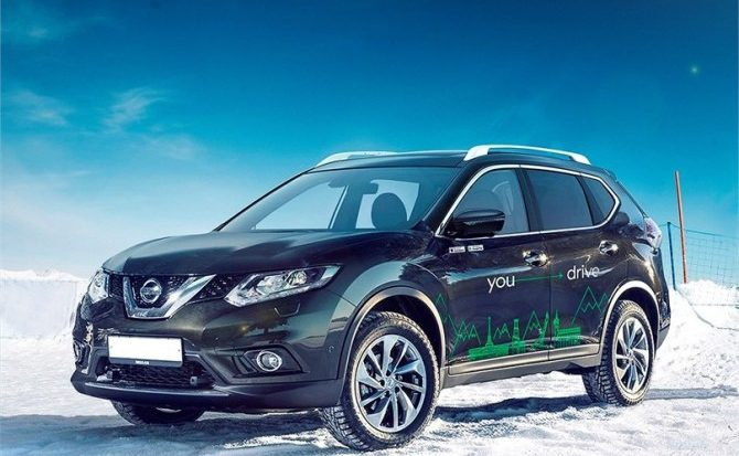 Nissan x-Trail YOUDRIVE