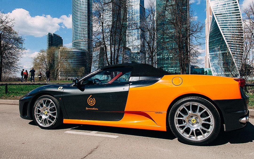 Каршеринг Ferrari Делимобиль
