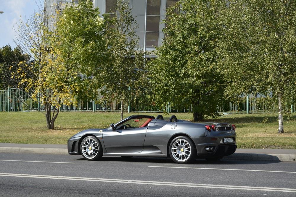 Каршеринг Ferrari энитайм