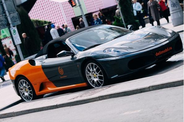 Каршеринг Ferrari условия дтп